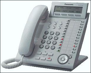 Цифровой ip-телефон Panasonic KX-NT343